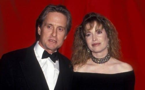 Michael Douglas and Diandra Douglas