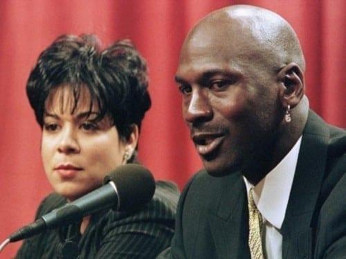 Michael Jordan and Juanita Jordan