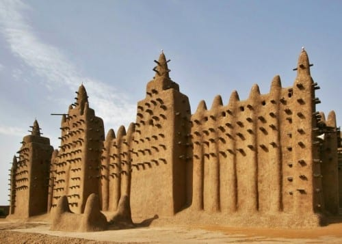 Djenne Mud Mosque in Mali