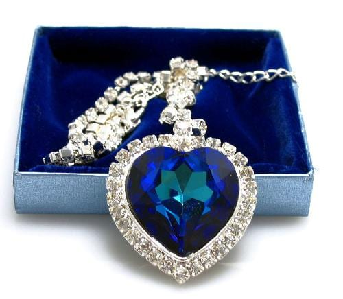 Heart of the Ocean Diamond Necklace
