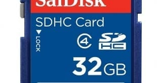 SanDisk Class 4 SDHC Memory Card