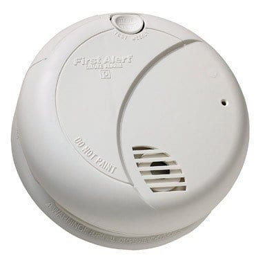 First Alert SA710LCN Long Life Photoelectric Smoke Alarm